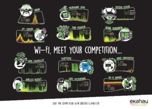 Anti-Wi-Fi internet of things